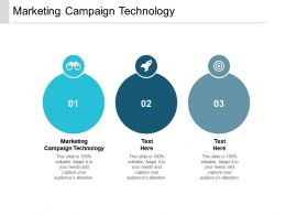 Marketing Campaign Technology Ppt Powerpoint Presentation Infographic Template Cpb