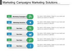 Marketing Campaigns Marketing Solutions Performance Management Marketing Channel Cpb