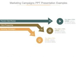 Marketing Campaigns Ppt Presentation Examples