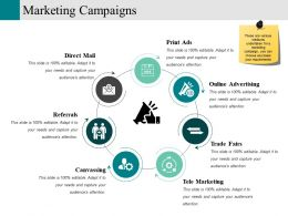 Marketing Campaigns Ppt Sample Download