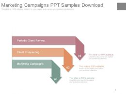 Marketing Campaigns Ppt Samples Download