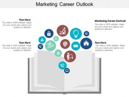 Marketing Career Outlook Ppt Powerpoint Presentation Ideas Example Cpb