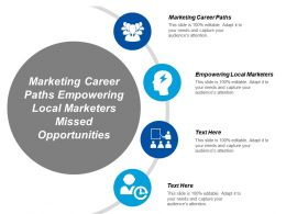 Marketing Career Paths Empowering Local Marketers Missed Opportunities Cpb