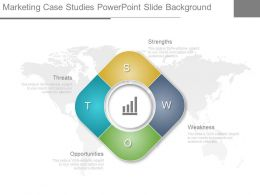 Marketing Case Studies Power Point Slide Background