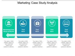 Marketing Case Study Analysis Ppt Powerpoint Presentation Slides Cpb