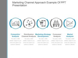 Marketing Channel Approach Example Of Ppt Presentation