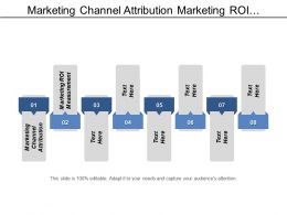 Marketing Channel Attribution Marketing Roi Measurement Manage Email Marketing Cpb