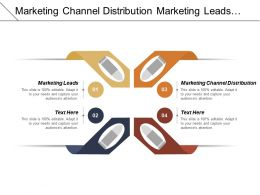 Marketing Channel Distribution Marketing Leads Business Exit Strategy