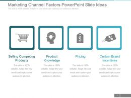 Marketing Channel Factors Powerpoint Slide Ideas