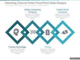 Marketing Channel Roles Powerpoint Slide Designs