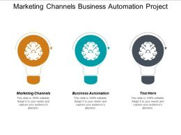 Marketing Channels Business Automation Project Funding 7 Step Process Cpb