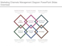 Marketing Channels Management Diagram Powerpoint Slides Download