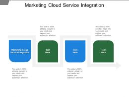 Marketing Cloud Service Integration Ppt Powerpoint Presentation Inspiration Backgrounds Cpb
