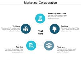 Marketing Collaboration Ppt Powerpoint Presentation File Vector Cpb