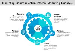 Marketing Communication Internet Marketing Supply Chain E Marketing Strategies Cpb