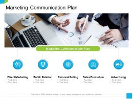 Marketing Communication Plan M2239 Ppt Powerpoint Presentation Layouts Format Ideas