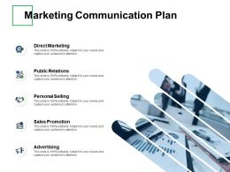 Marketing Communication Plan Sales Promotion Ppt Powerpoint Presentation Gallery Themes