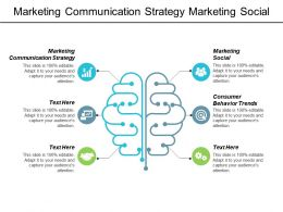 Marketing Communication Strategy Marketing Social Consumer Behaviour Trends Cpb