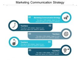 Marketing Communication Strategy Ppt Powerpoint Presentation Infographic Template Cpb
