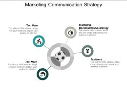 Marketing Communication Strategy Ppt Powerpoint Presentation Summary Visuals Cpb