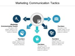 Marketing Communication Tactics Ppt Powerpoint Presentation Layouts Portrait Cpb