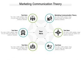 Marketing Communication Theory Ppt Powerpoint Presentation Professional Introduction Cpb
