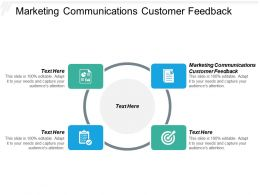 Marketing Communications Customer Feedback Ppt Powerpoint Presentation File Cpb