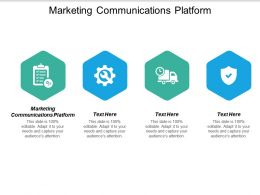 Marketing Communications Platform Ppt Powerpoint Presentation Styles Influencers Cpb