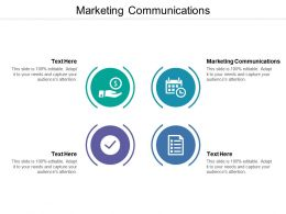 Marketing Communications Ppt Powerpoint Presentation Pictures Graphics Example Cpb