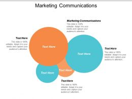 Marketing Communications Ppt Powerpoint Presentation Styles Inspiration Cpb