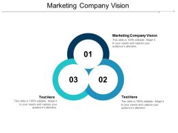 Marketing Company Vision Ppt Powerpoint Presentation Slides Background Image Cpb