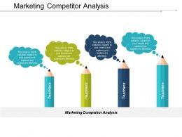 Marketing Competitor Analysis Ppt Powerpoint Presentation Pictures Sample Cpb
