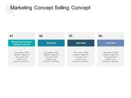 Marketing Concept Vs Selling Concept Ppt Powerpoint Presentation Styles Shapes Cpb