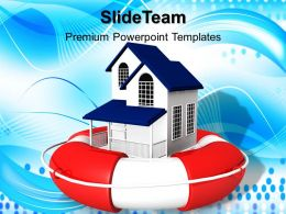Marketing Concepts Powerpoint Templates Real Estate Rescue Sale Ppt Process