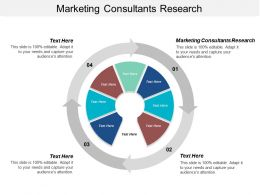 Marketing Consultants Research Ppt Powerpoint Presentation Ideas Influencers Cpb