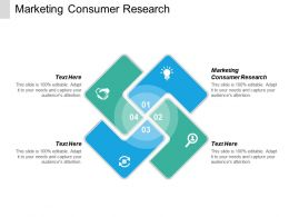 Marketing Consumer Research Ppt Powerpoint Presentation Icon Introduction Cpb