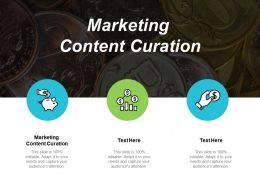Marketing Content Curation Ppt Powerpoint Presentation Infographic Template Backgrounds Cpb