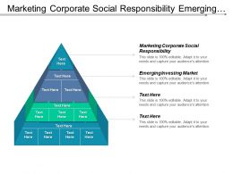 Marketing Corporate Social Responsibility Emerging Investing Market Investment Banking Cpb