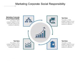 Marketing Corporate Social Responsibility Ppt Powerpoint Presentation Pictures Backgrounds Cpb