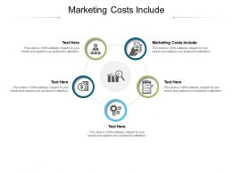Marketing Costs Include Ppt Powerpoint Presentation Visual Aids Slides Cpb