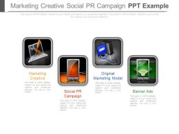 Marketing Creative Social Pr Campaign Ppt Example