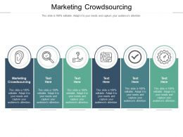 Marketing Crowdsourcing Ppt Powerpoint Presentation Diagrams Cpb