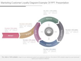 Marketing Customer Loyalty Diagram Example Of Ppt Presentation