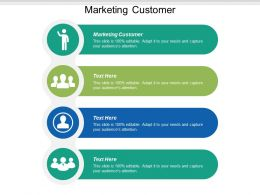 Marketing Customer Ppt Powerpoint Presentation Icon Brochure Cpb