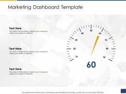 Marketing Dashboard Template Process Of Requirements Management Ppt Infographics