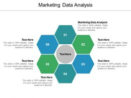 Marketing Data Analysis Ppt Powerpoint Presentation Icon Elements Cpb
