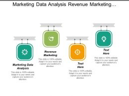 Marketing Data Analysis Revenue Marketing Marketing Budget Percentage Sales Cpb