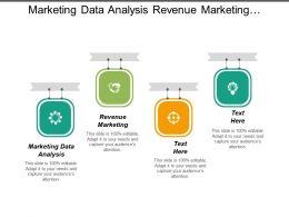 Marketing Data Analysis Revenue Marketing Marketing Budget Percentage Sales Cpb