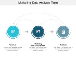 Marketing Data Analysis Tools Ppt Powerpoint Presentation Portfolio Deck Cpb