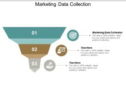 Marketing Data Collection Ppt Powerpoint Presentation Pictures Templates Cpb